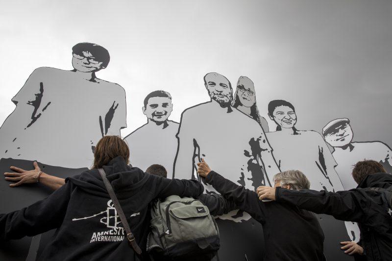 Türkei 10 Menschen 100 Tage in Haft | © Amnesty International/Richard Burton
