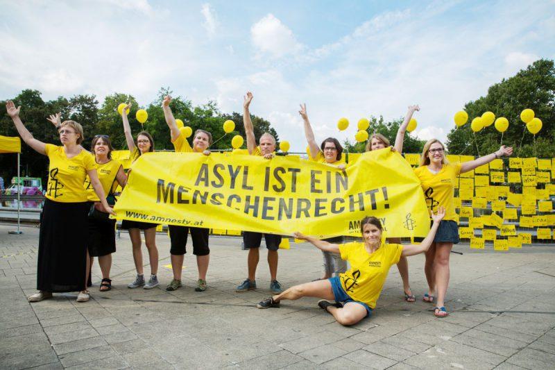 Mehr als die Hälfte bereit, sich für die Menschenrechte zu engagieren 2 | © Amnesty International