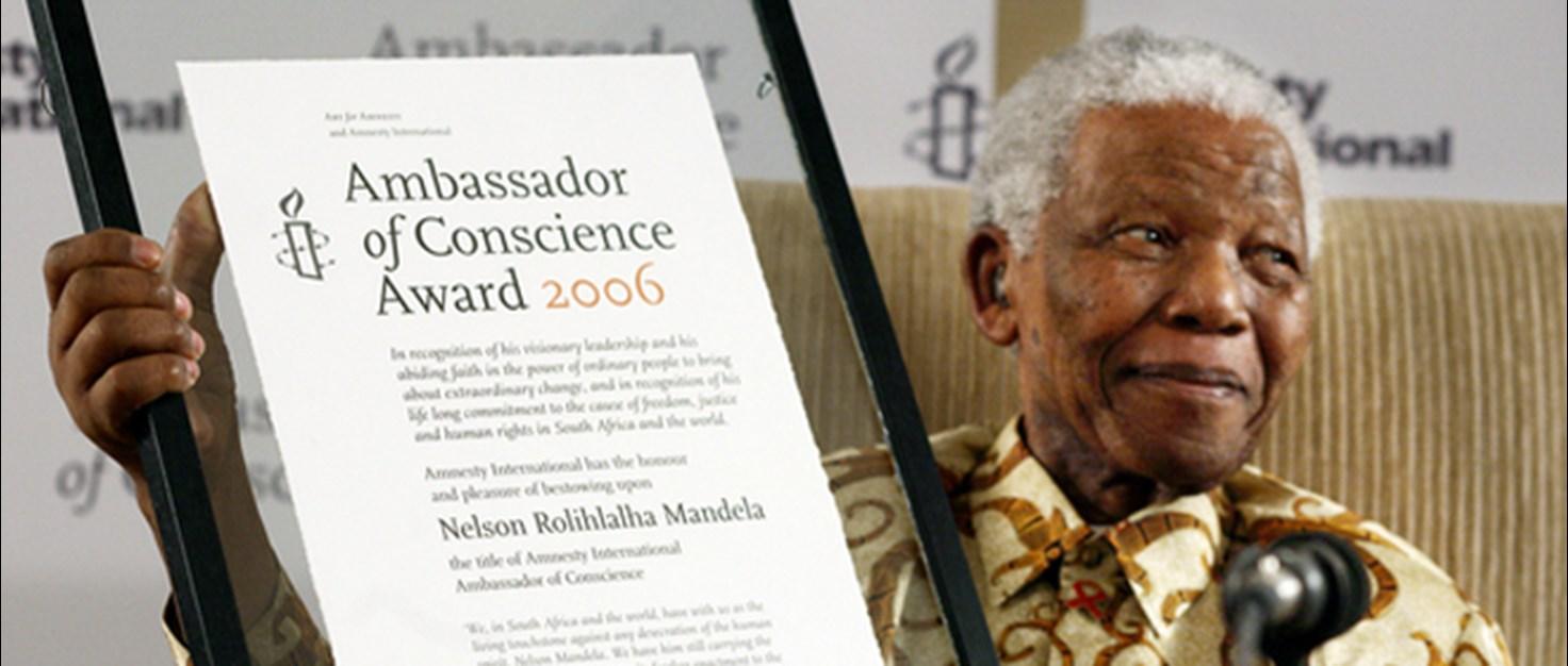 Amnesty - Ambassador Award Nelson Mandela | © Mark Morrison