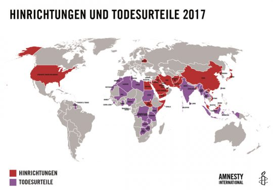 Auslaufmodell Todesstrafe 1 | © Amnesty International