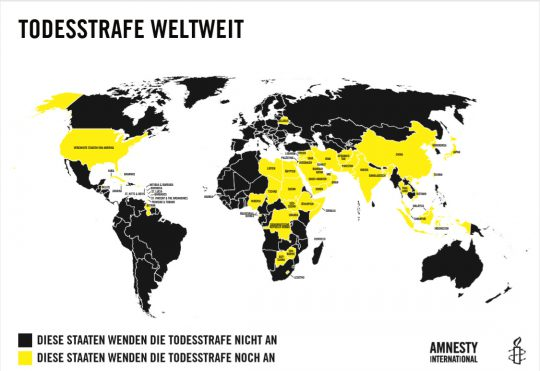 Auslaufmodell Todesstrafe 2 | © Amnesty International