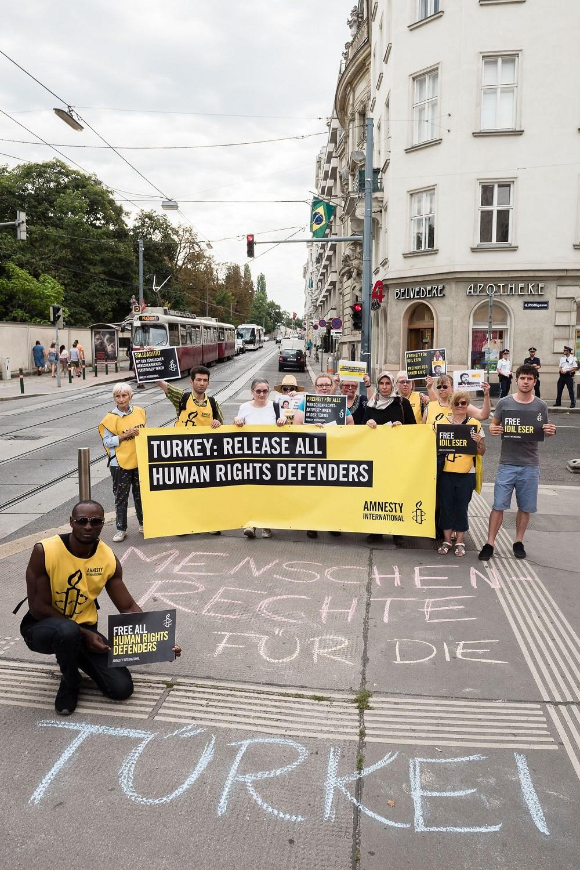 AktionTurkey | © AI Netzwerk Frauenrechte