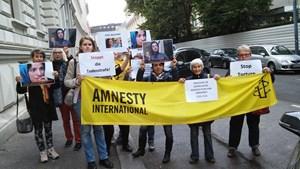 Thumbnail IranBotschaft2 | © Amnesty-NW Frauenrechte