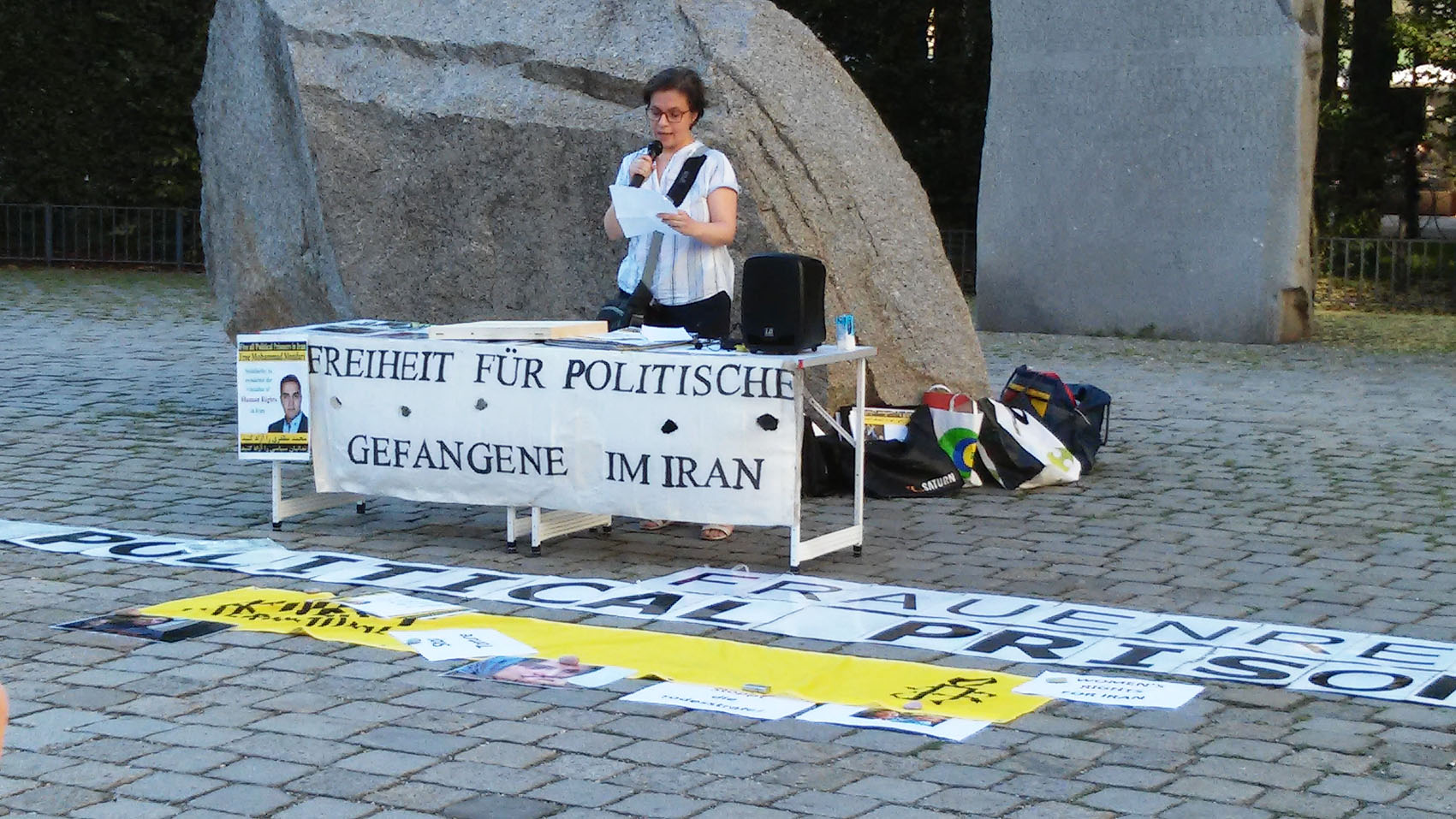 KundgebungAndischeh3 | © Amnesty-NW Frauenrechte
