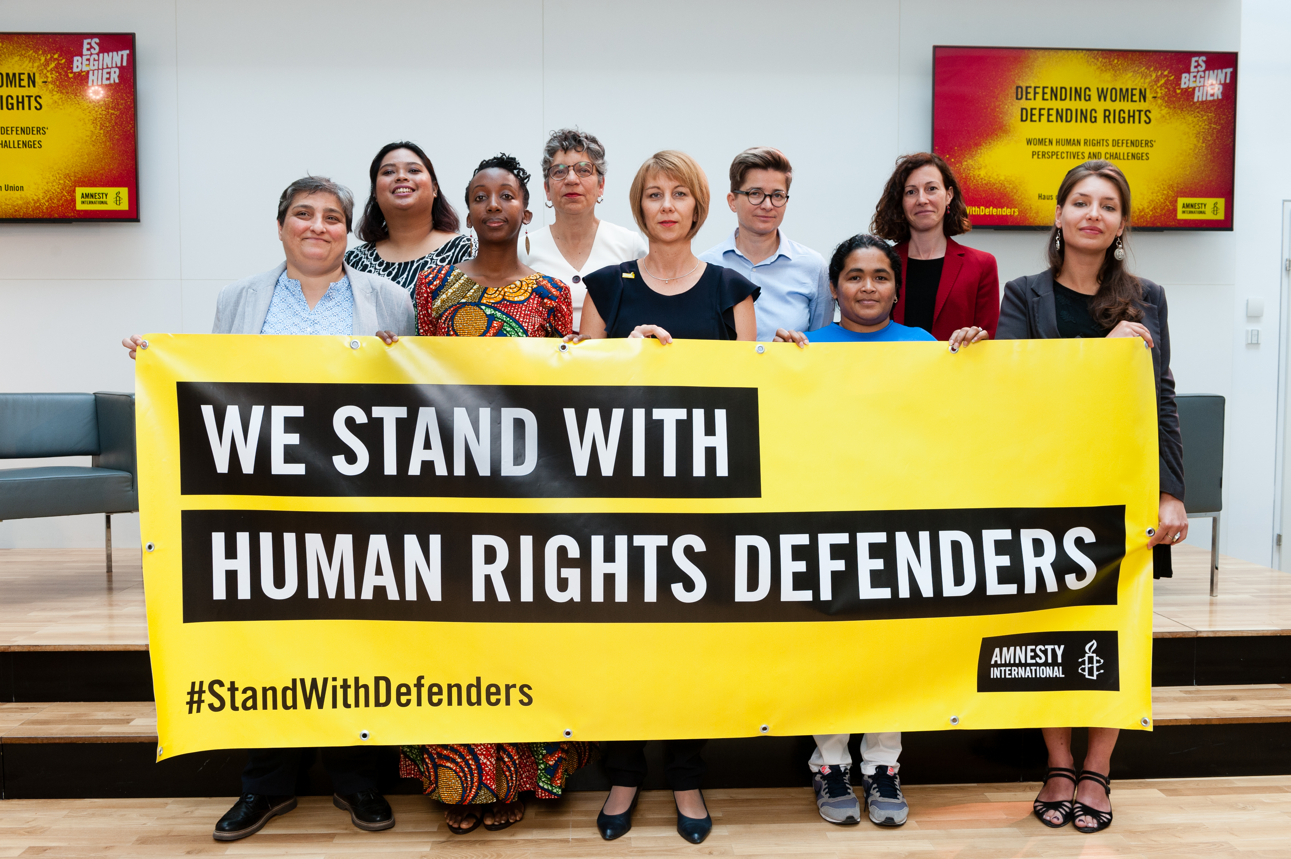AMNESTY WomenHumanRightsDefenders c Amnesty International Österreich-Christoph Liebentritt