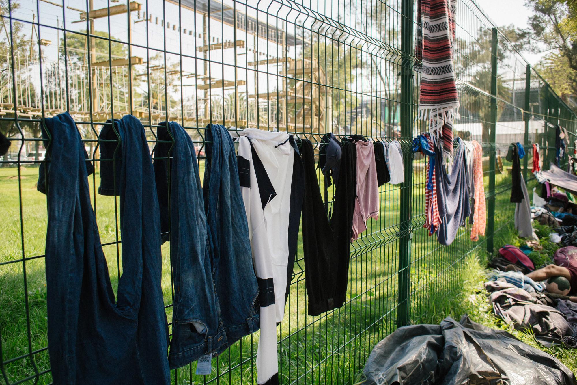 Migrant Caravan | © Sergio Ortiz/Amnesty International