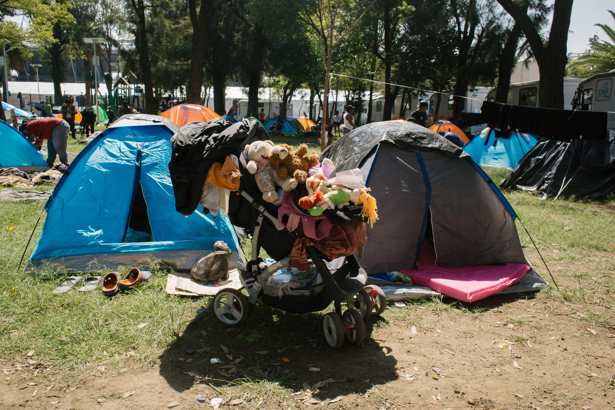 Tent Migrant Caravan | © Sergio Ortiz/Amnesty International