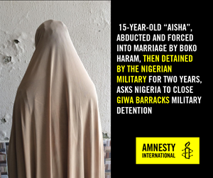 Thumbnail They Betrayed Us Aisha | © Amnesty International