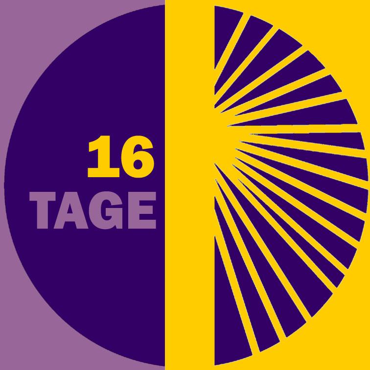 Logo 16 Tage 2018 | © 16 Tage gegen Gewalt an Frauen
