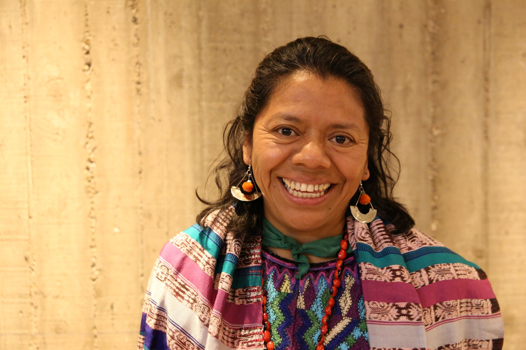 257584 Lolita Chavez  Guatemala - Human Rights Defenders World Summit S