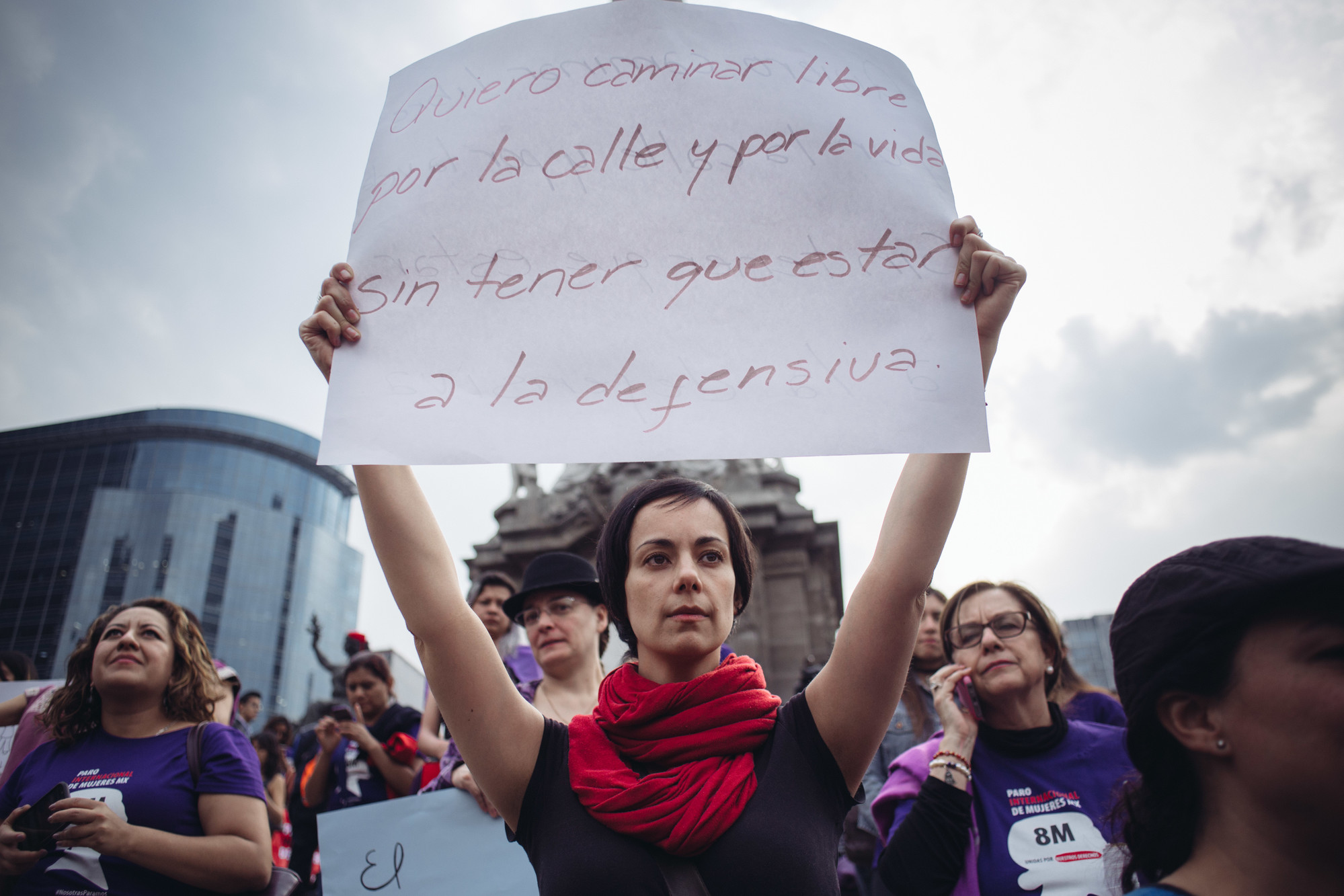 IWD March Mexico | ©  Sergio Ortiz/Amnesty International