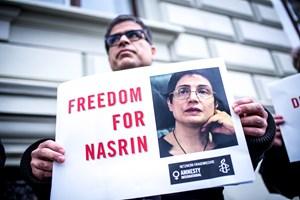 Thumbnail FreeNasrin 1 | © Amnesty International/Christopher Glanzl