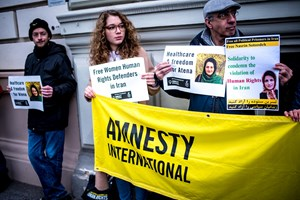 Thumbnail Iran Botschaft 6 | © Amnesty International/Christopher Glanzl