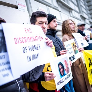 Thumbnail Iran Botschaft 11 | © Amnesty International/Christopher Glanzl