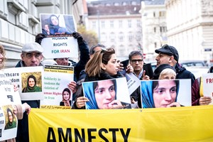 Thumbnail Iran Botschaft 22 | © Amnesty International/Christopher Glanzl
