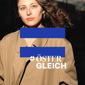 Thumbnail #ÖsterGLEICH x1 | © Foto: Jork Weismann, Logo: We Make / Amnesty International Österreich