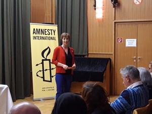 Thumbnail Annemarie Schlack Amensty International -  Lesung nach der Flucht