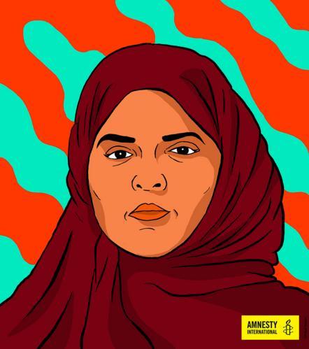 Aziza al-Youssef   © Amnesty International