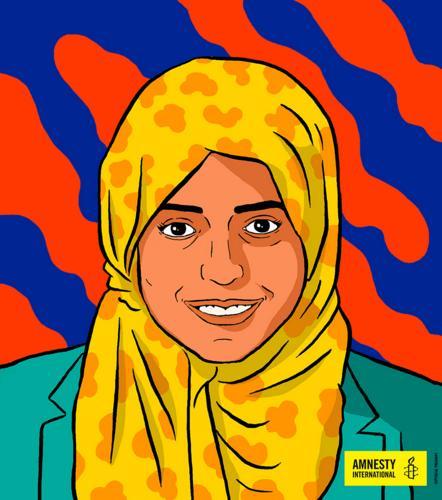 Nassima al-Sada (1)   © Amnesty International