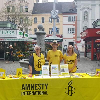 Jeden Sommer - Amnesty am Markt