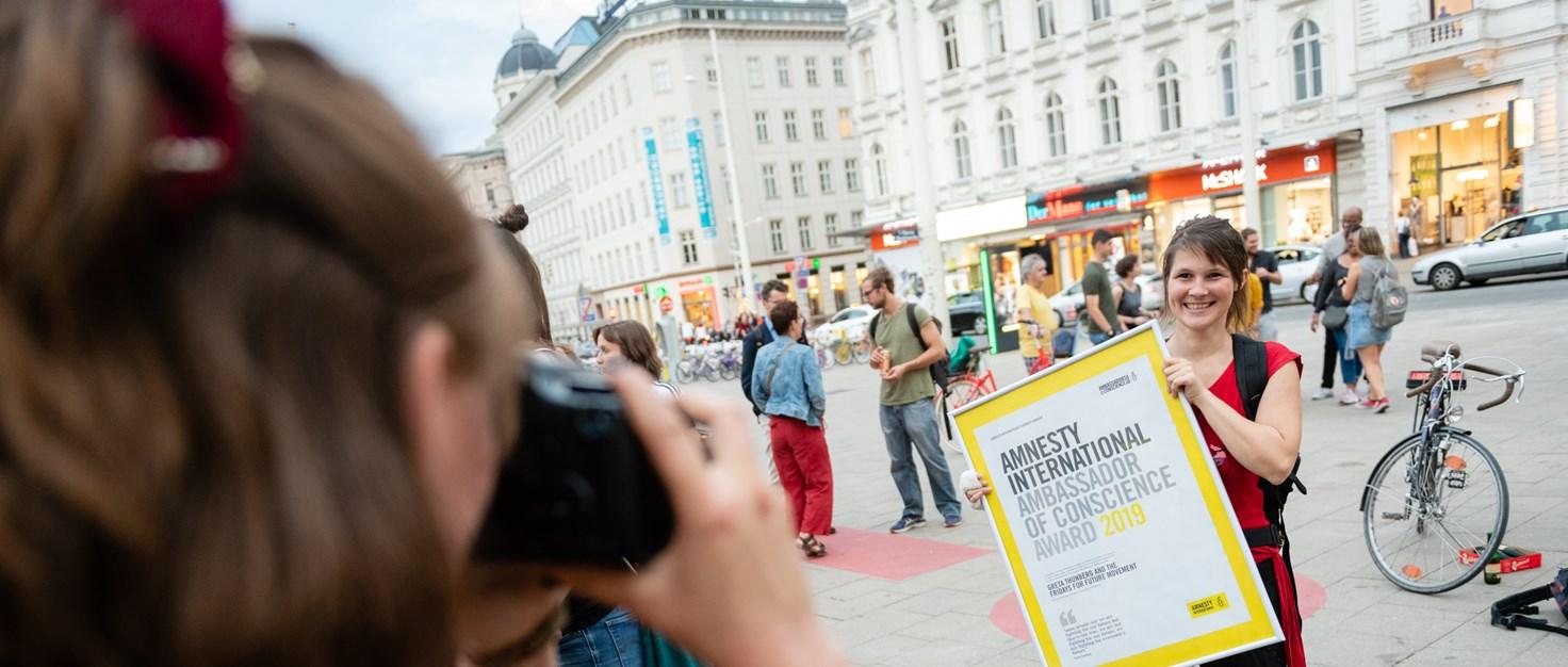 008 Amnesty-Award Fridays-for-Future (6) | © Christoph Liebentritt/Amnesty International