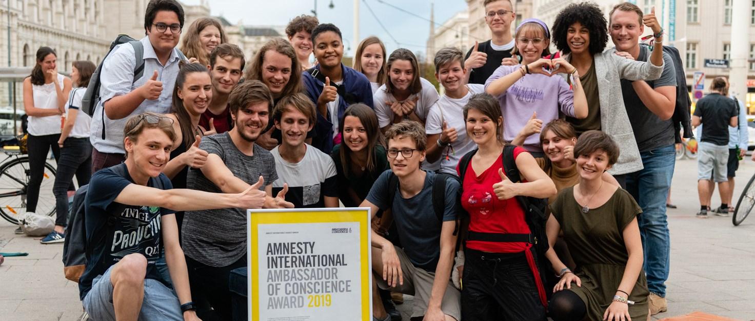 008 Amnesty-Award Fridays-for-Future (7) | © Christoph Liebentritt/Amnesty International