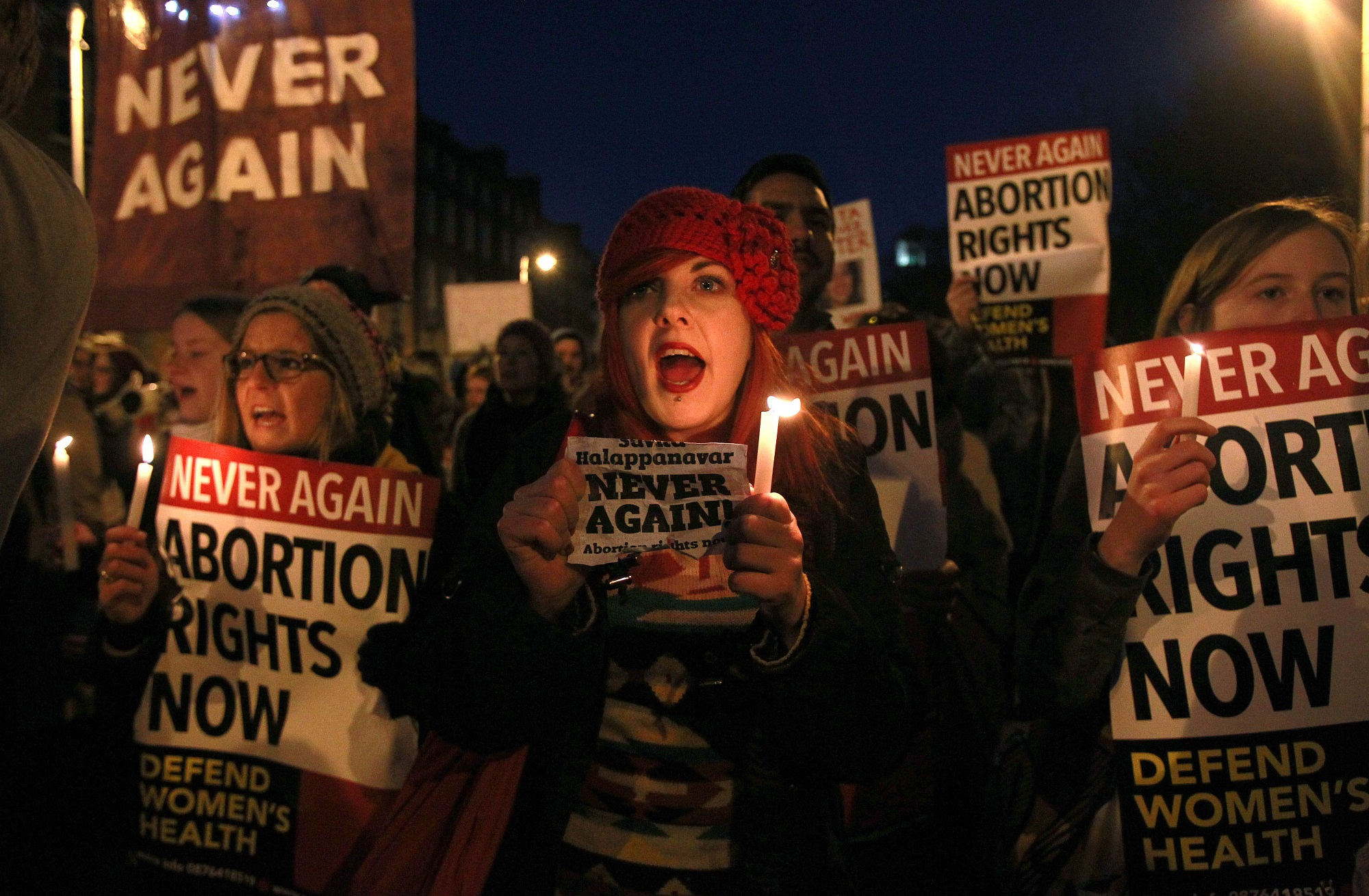 never again abortion | © PETER MUHLY/AFP/Getty Images