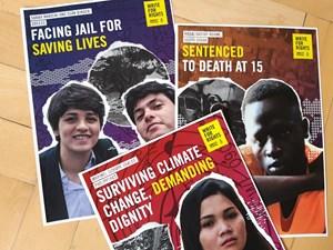Thumbnail Briefmarathon 2019: Vier junge Menschen | © Amnesty International