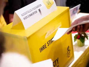 Thumbnail Amnesty Briefmarathon Human Rights Challenge | © Christoph Liebentritt/Amnesty International
