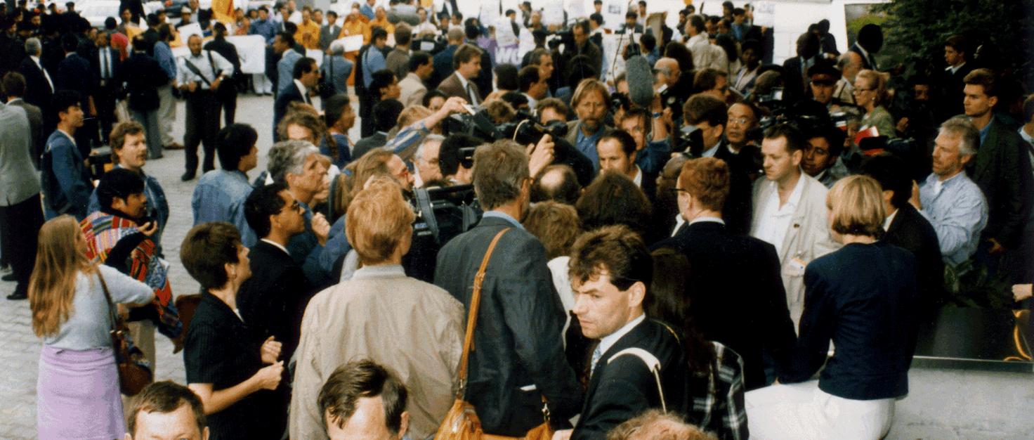 un-konferenz-menschenrechte-wien-juni-1993 216352 | ©  Marlon Traber