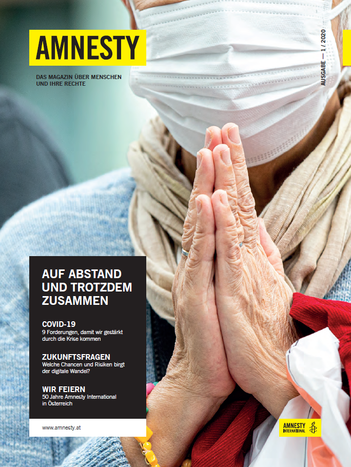 Amnesty-Magazin-01-2020 Cover