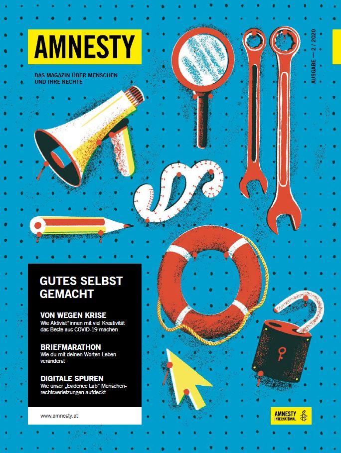 Amnesty Magazin 02 2020 Cover