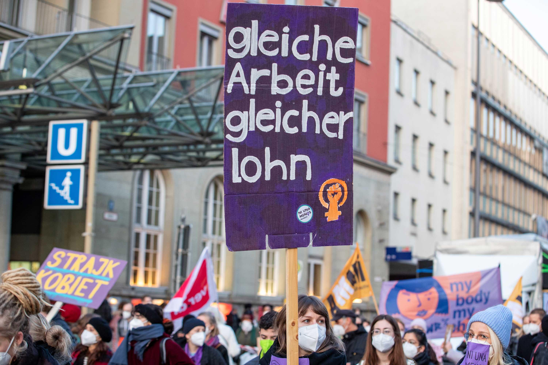 Recht Auf Arbeit Demo Tag Der Arbeit 20210308 PD12664